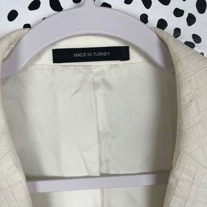 5da50a6c756 Hugo Boss Suits & Blazers | White Seersucker Jacket | Poshmark